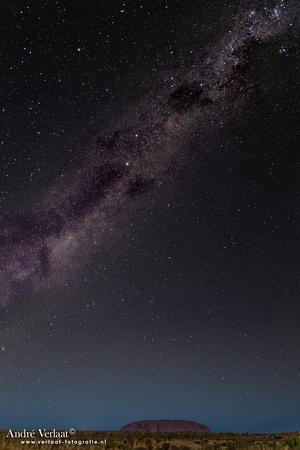 Milky Way @ Uluru / Ayers Rock - Yulara - NT